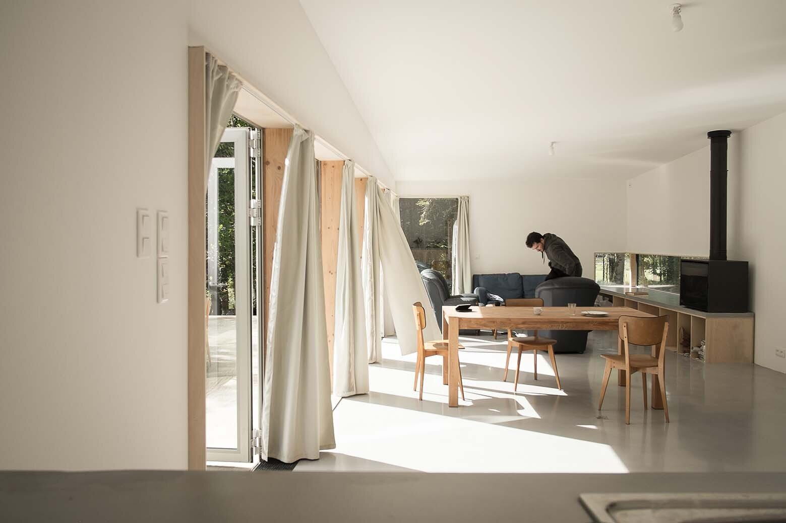 JJ&S.M Houses - Atelier Mima - France - Living Area - Humble Homes
