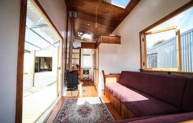 Stupendous An Eco Friendly Tiny House By Jeff Hobbs Costs 77 000 Largest Home Design Picture Inspirations Pitcheantrous