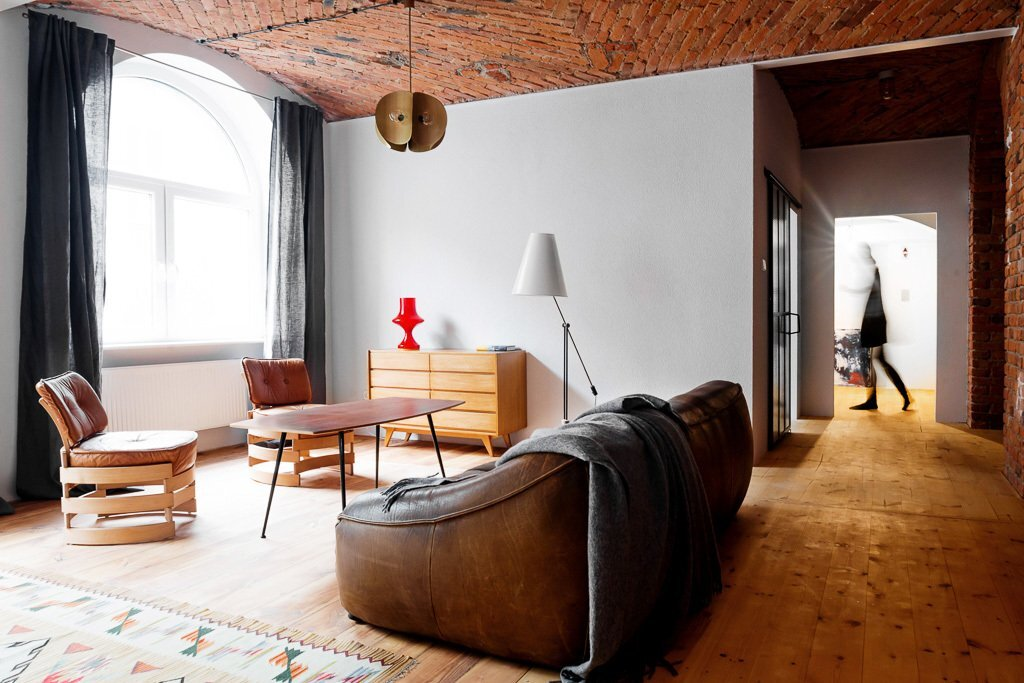 Loft in a Marmalade Factory - Loft Szczecin - Poland - Living Room - Humble Homes