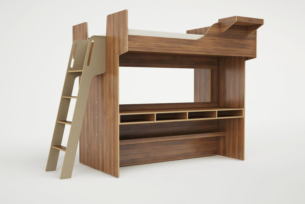 Lofted Beds - Casa Kids - Urbano - Bed with Sofa 3 - Humble Homes