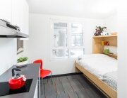 Nano Studio - University British Columbia - Vancouver - Studio Living Area - Humble Homes