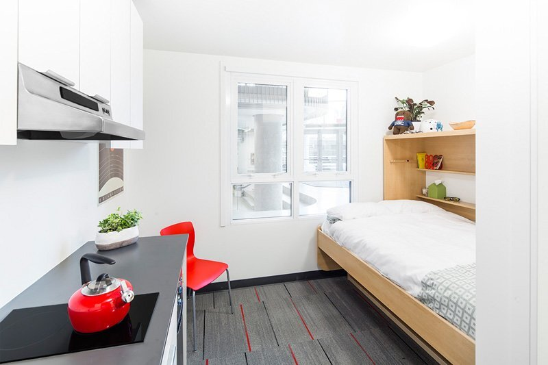 Nano studio a 140 square foot micro apartment for students - Nano homes small spaces for big sensations ...