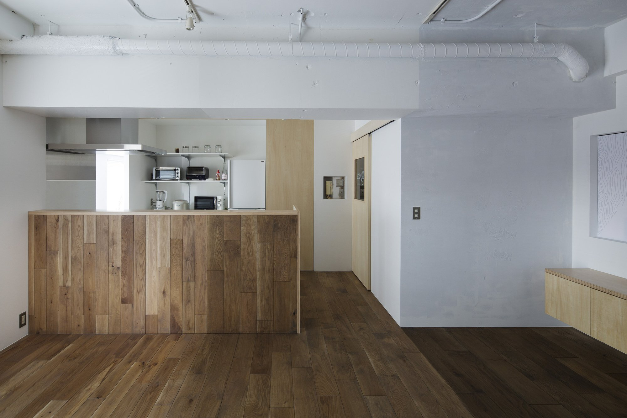 Opera - Taka Shinomoto and Voar Design Haus - Small Apartment in Tokyo - Living Area - Humble Homes