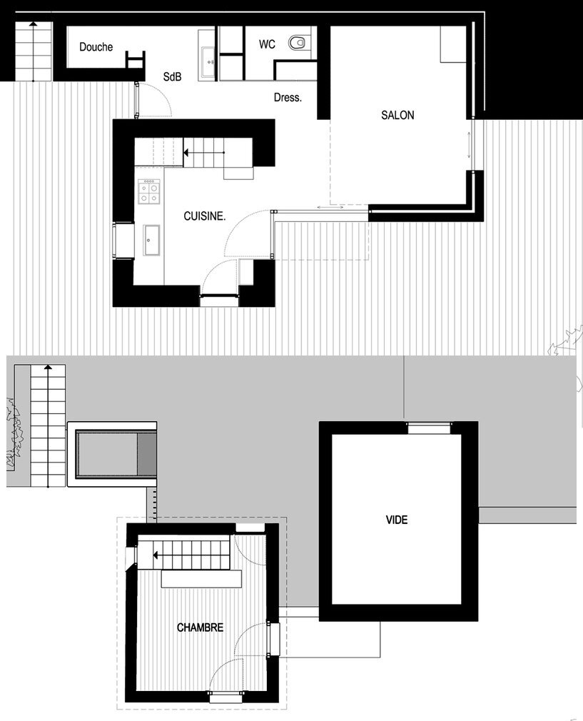 Rehabilitation of a Rural House - Cyril Chênebeau - France - Floor Plan - Humble Homes