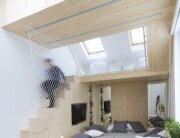 Sleep and Play - Multifunctional Spaces - Ruetemple - Moscow - Bedroom and Loft - Humble Homes