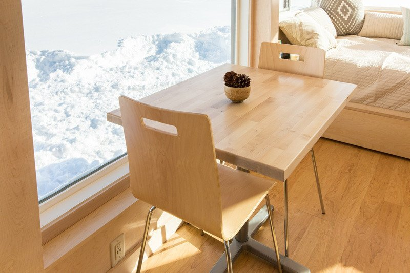 Vista Tiny House - Dan Dobrowolski - Escape Homes - Dining Area - Humble Homes
