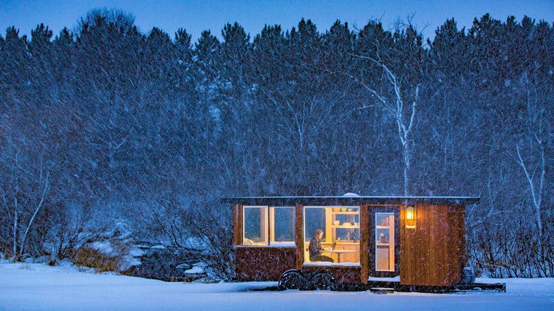 Vista Tiny House - Dan Dobrowolski - Escape Homes - Exterior - Humble Homes