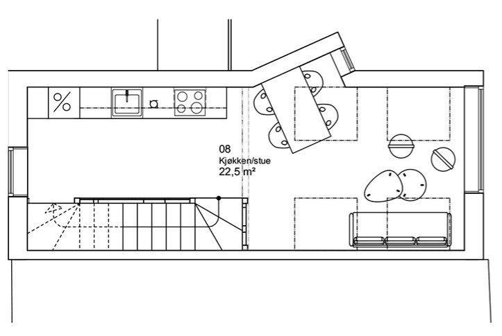 Modern Home, Traditional Ideas - House in Stravanger by Austigard ... : arkitektur stue : Arkitektur