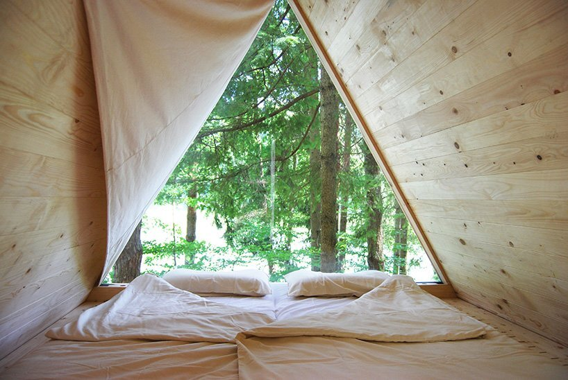Lushna Villas - Lushna - Bled Solvenia - Cabin Interior - Humble Homes