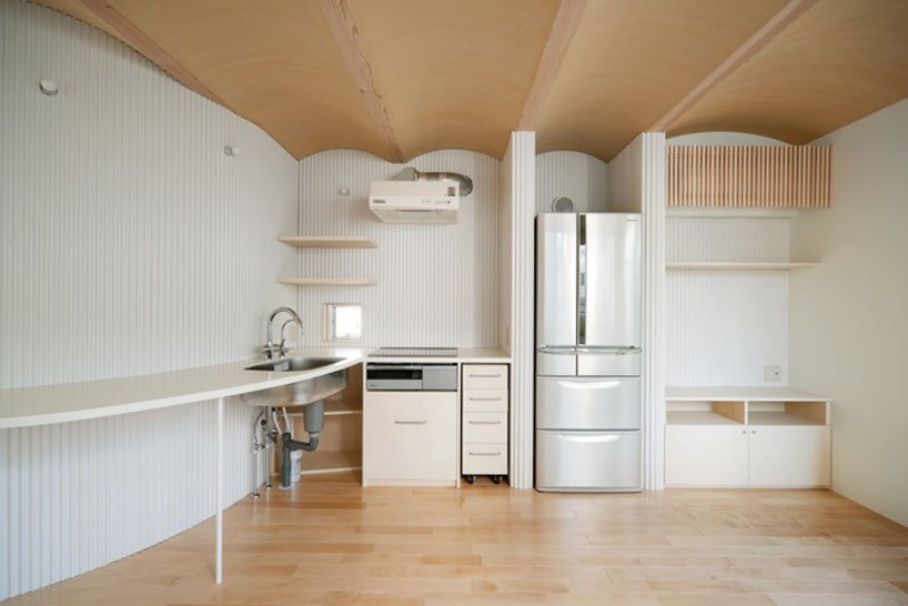 Nami Nami House - Flathouse Architects - Japan - Kitchen - Humble Homes