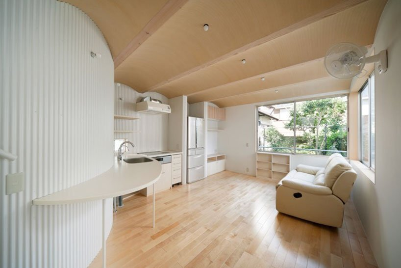 Nami Nami House - Flathouse Architects - Japan - Living Area - Humble Homes