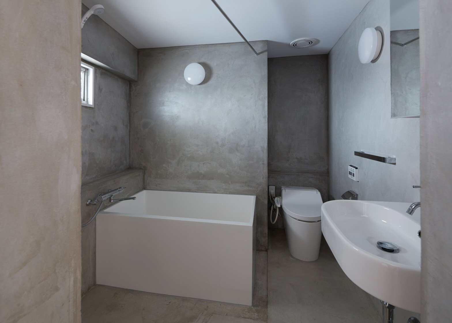 Apartments inside bathroom - Small Apartment Frontofficestudio Tokyo Bathroom Humble Homes