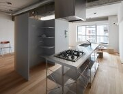 Small Apartment - FrontOfficeStudio - Tokyo - Kitchen - Humble Homes