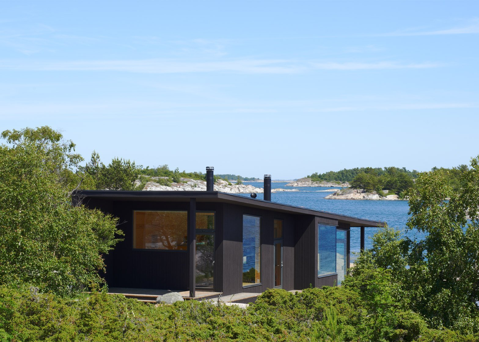 Small Cabins - Margen Wigow Arkitektkontor - Stockholm Archipelago - Exterior - Humble Homes