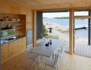 Small Cabins - Margen Wigow Arkitektkontor - Stockholm Archipelago - Kitchen - Humble Homes