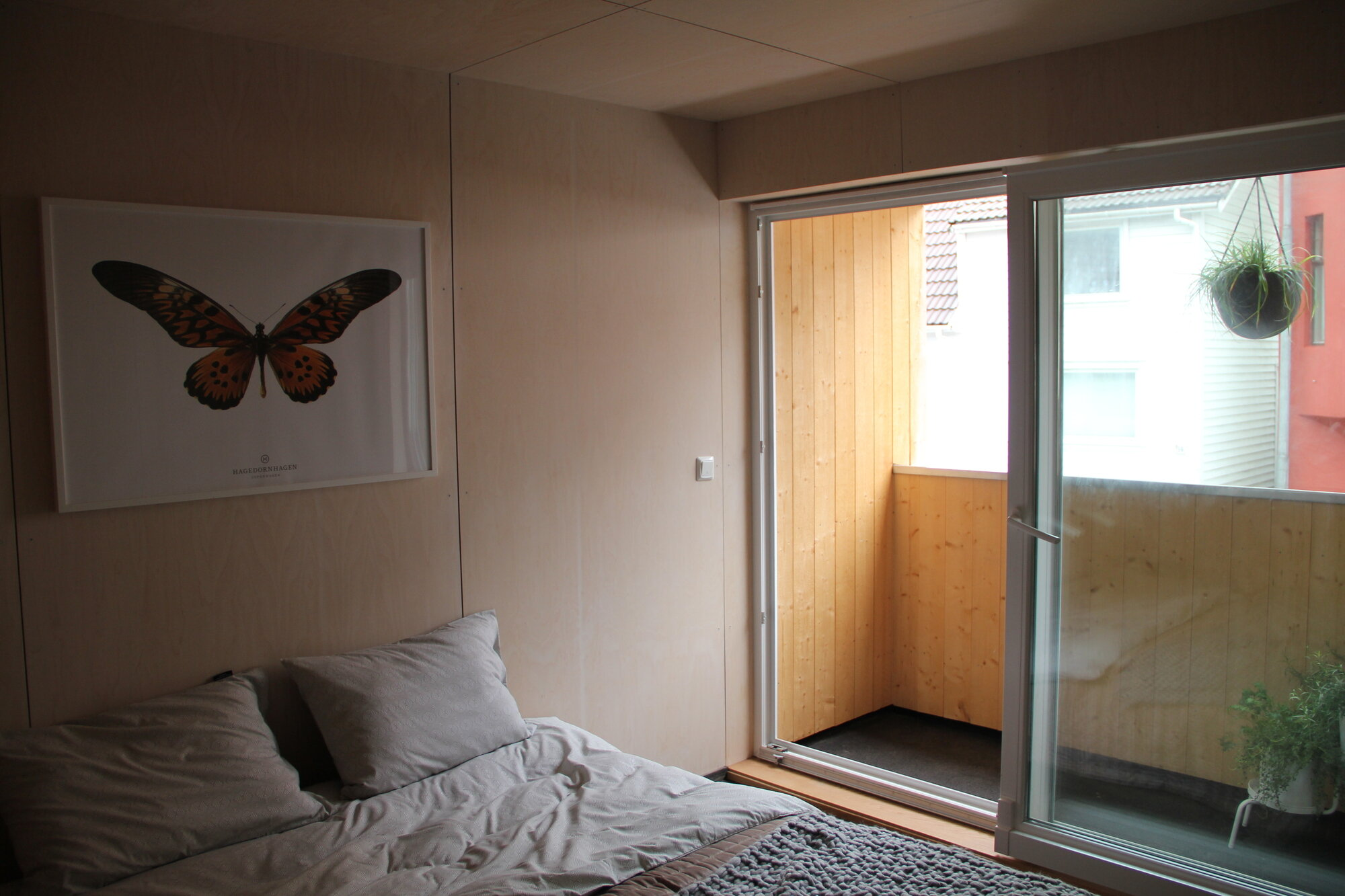 Small Terrace House - House in Stravanger - Austigard Arkitektur - Norway - Bedroom - Humble Homes