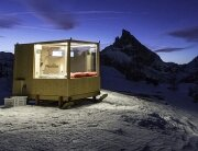 Starlight Room - Tiny Cabin - Dolomite Mountain Range - Italy - Exterior - Humble Homes