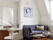 Tiny Apartment - A+B Kesha - Paris - Living Area - Humble Homes