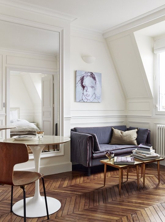 270 Square Foot Paris Apartment by A+B Kesha that Costs €695,000