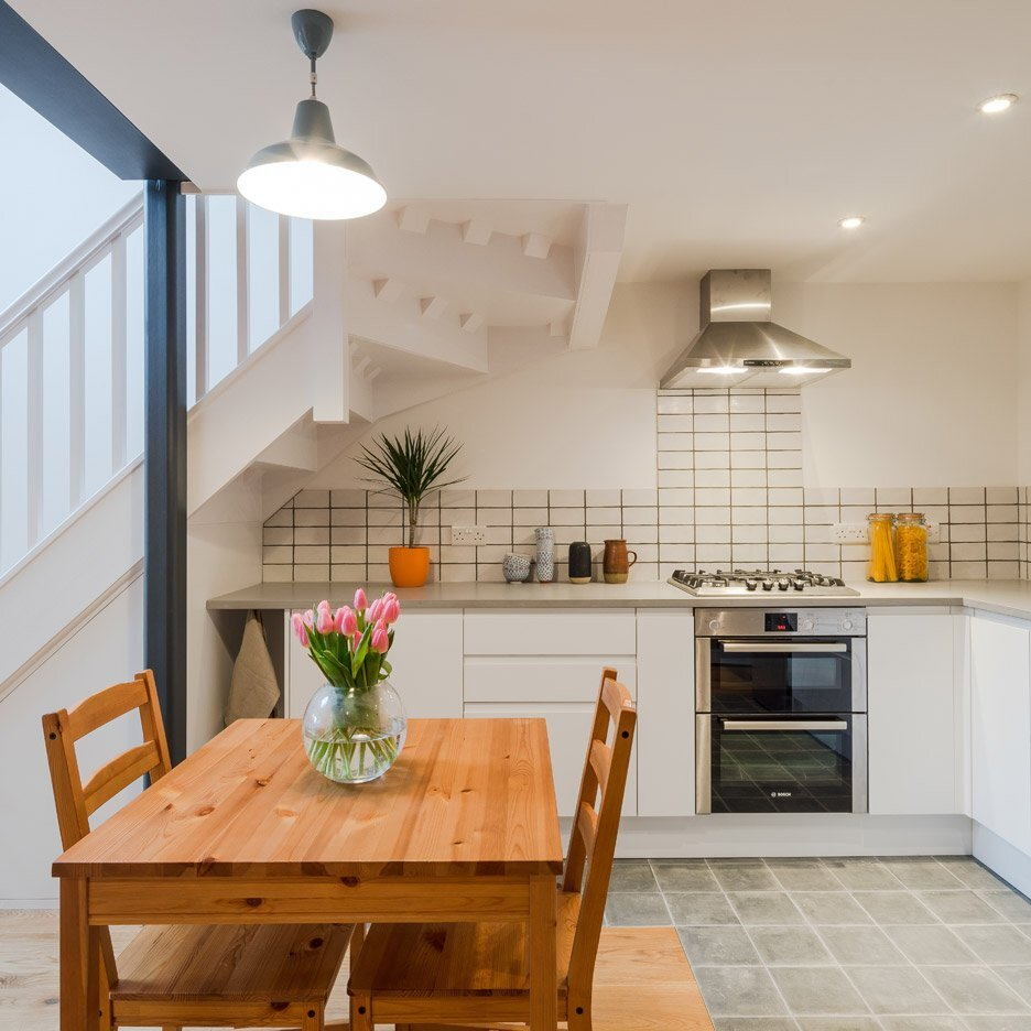 Victorian Coach House Renovation - Intervention Architecture - Birmingham - Kitchen - Humble Homes