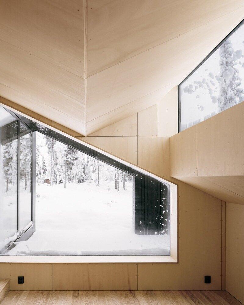 Cabin Vindheim - Vardehaugen - Norway - Living Area Window - Humble Homes