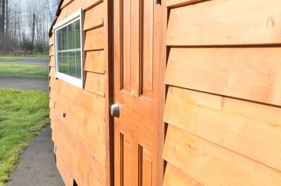 Homegrown Trailers - Teardrop Trailer - Washington - Entrance - Humble Homes