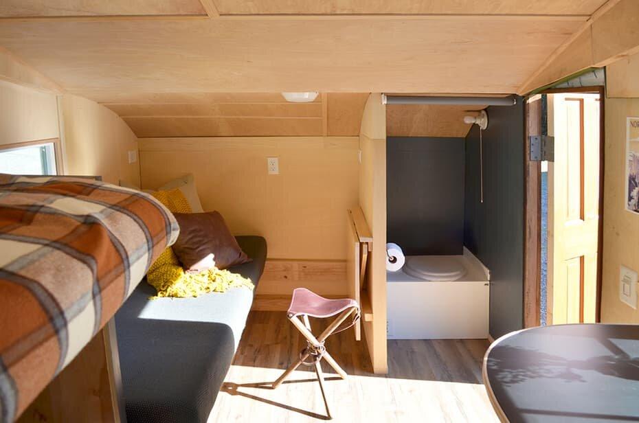 Homegrown Trailers - Teardrop Trailer - Washington - Living Area - Humble Homes
