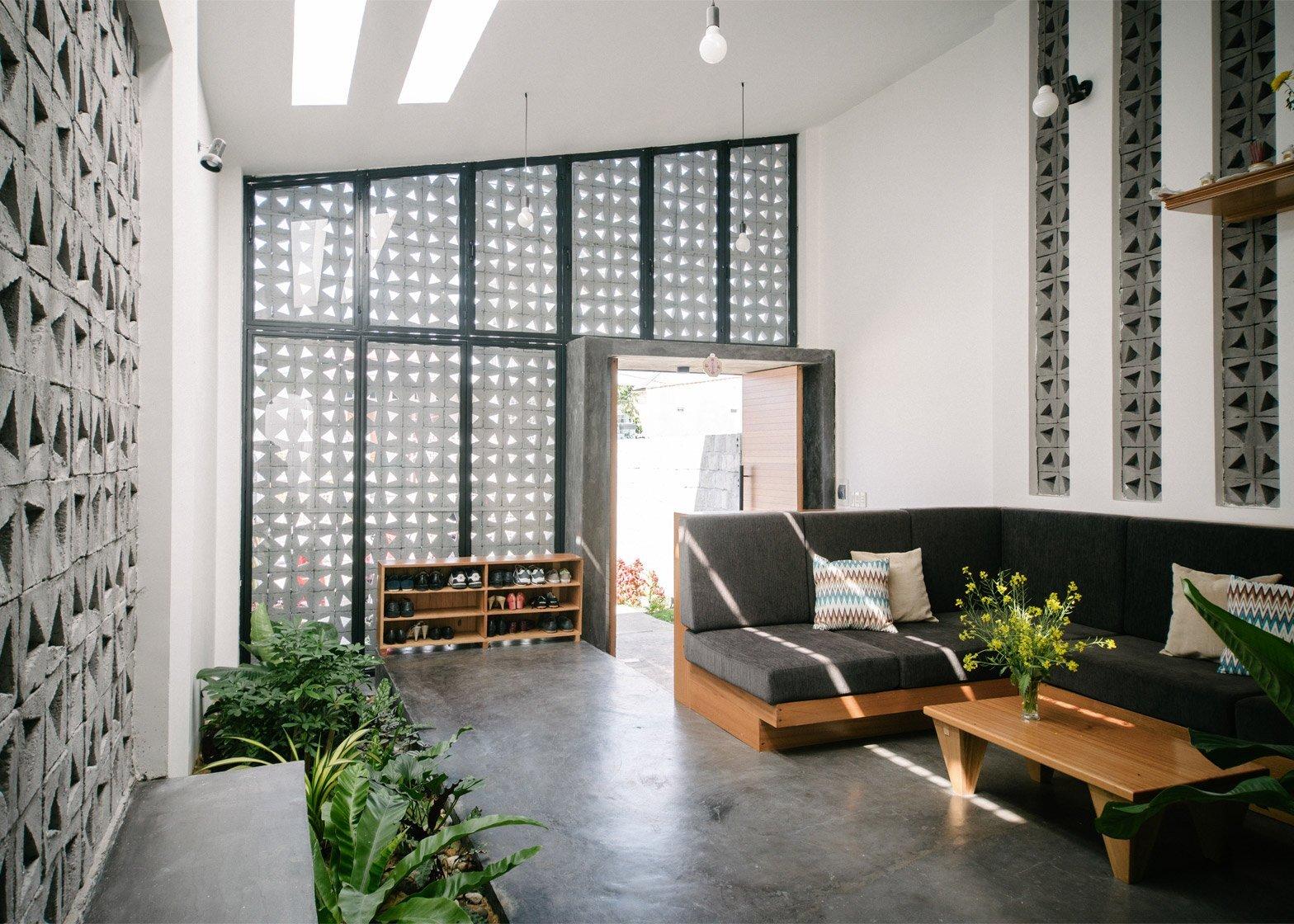 Kontum House - Khuon Studio - Vietnam - Living Area - Humble Homes