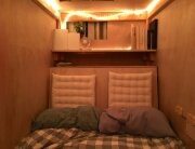 Living in a Pod - Peter Berkowitz - San Francisco - Interior with Bed - Humble Homes