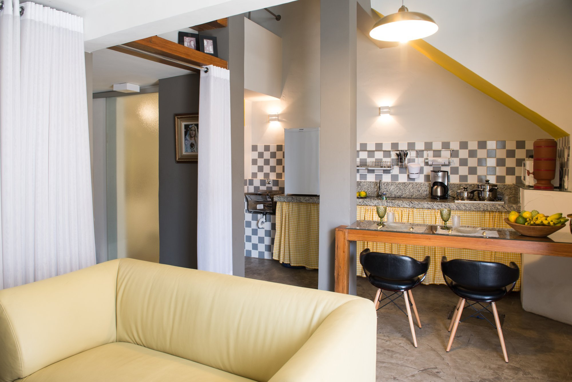 Loft Grandpa - MEIUS Arquitetura -  Brazil - Breakfast Bar - Humble Homes