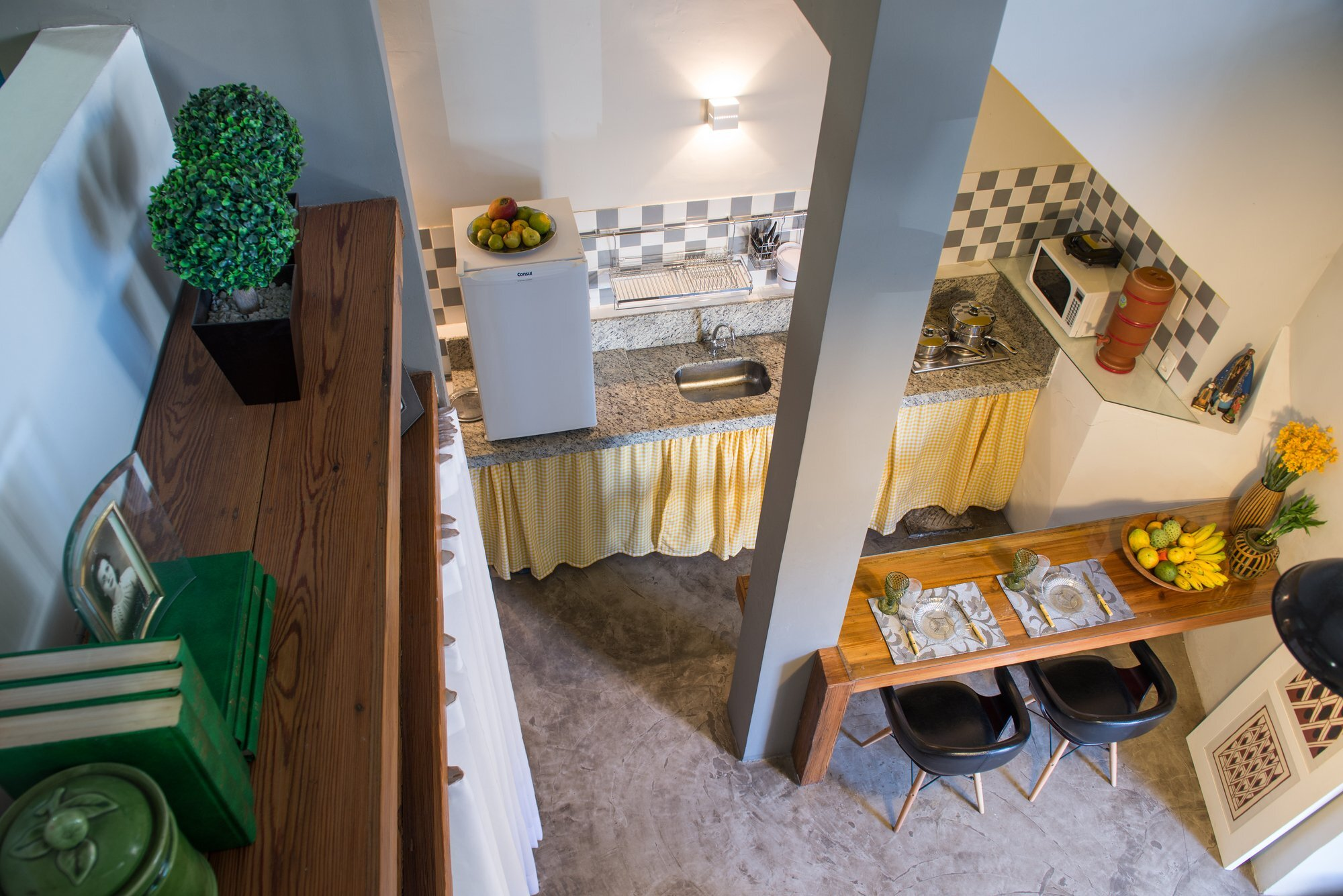 Loft Grandpa Meius Arquitetura Brazil Kitchen Humble Homes