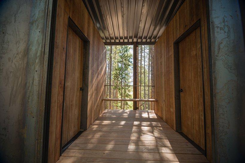 Micro Cabins - Colorado Building Workshop - Colorado - Deck - Humble Homes