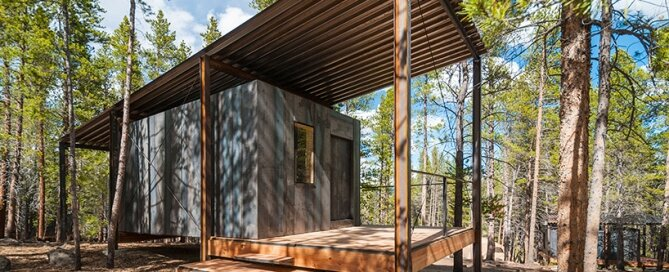 Micro Cabins - Colorado Building Workshop - Colorado - Exterior - Humble Homes