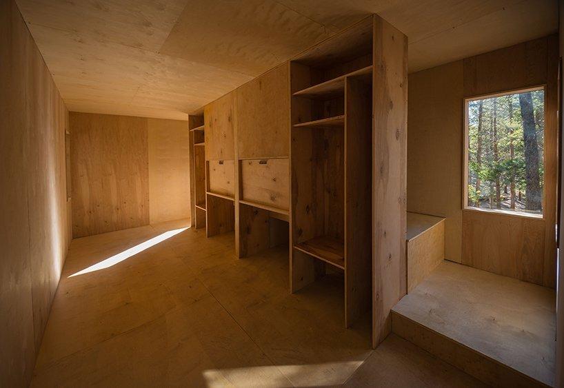 Micro Cabins - Colorado Building Workshop - Colorado - Interior Storage - Humble Homes