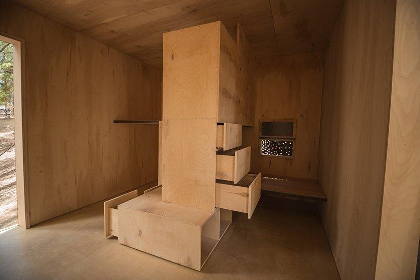 Micro Cabins - Colorado Building Workshop - Colorado - Storage - Humble Homes
