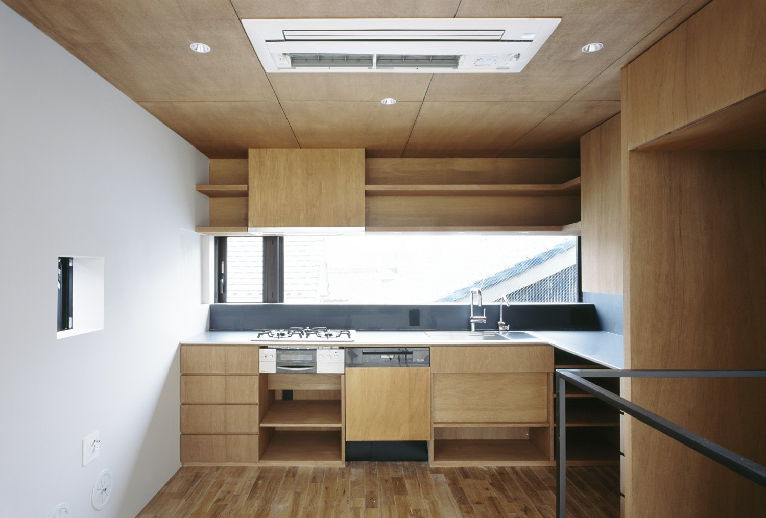 Nest - APOLLO Architects - Japan - Kitchen - Humble Homes