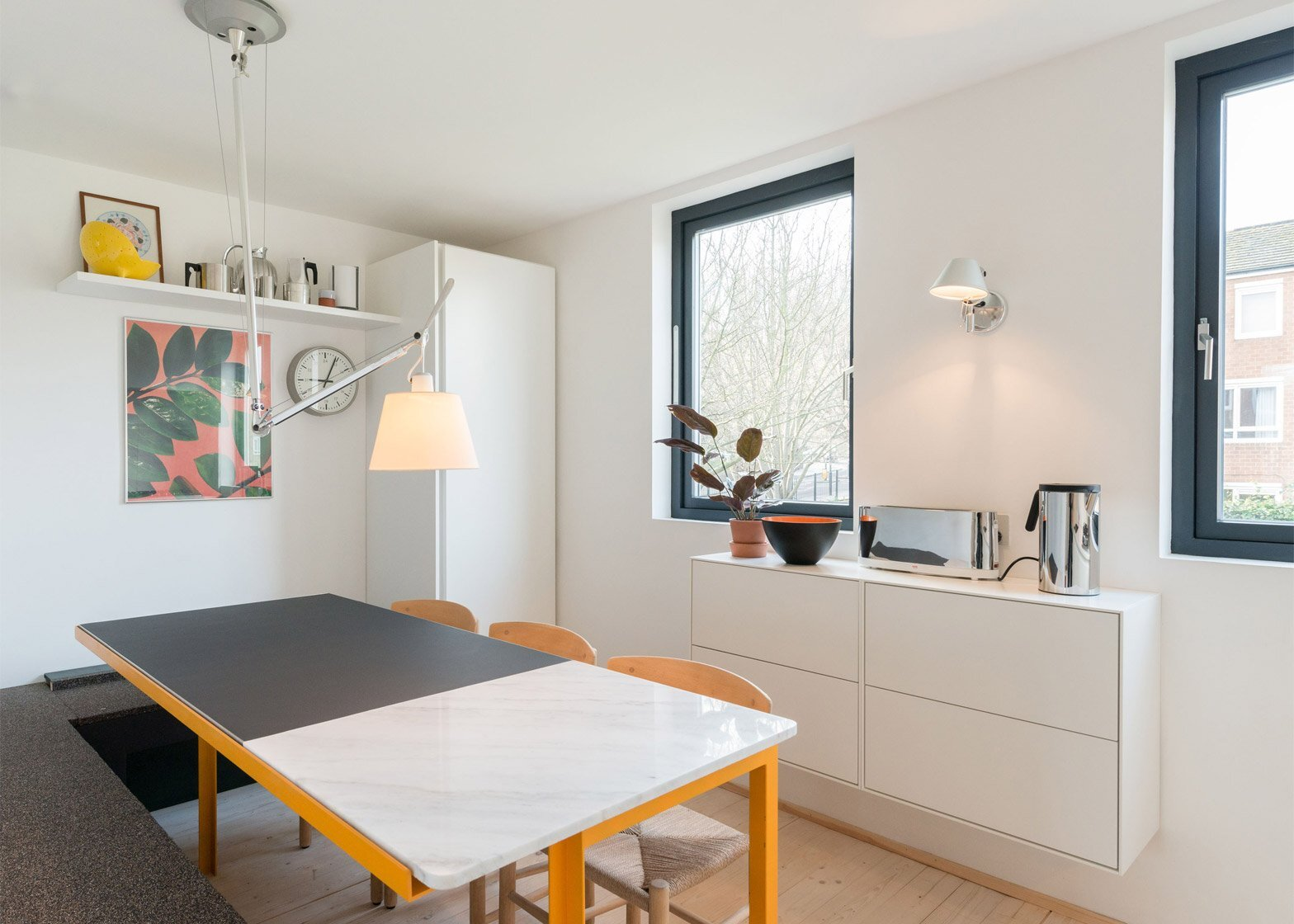Peek House - Ex Council Flat Conversion - Archmongers - London - Dining Area - Humble Homes