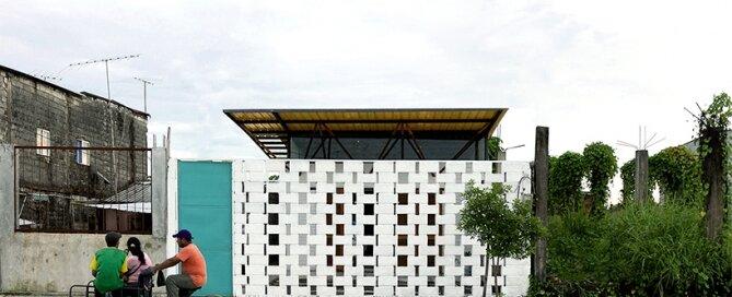 Social House Project - Natura Futura Arquitectura - Ecuador - Exterior Front - Humble Homes