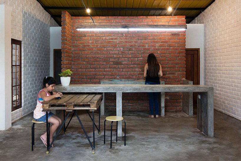 Social House Project - Natura Futura Arquitectura - Ecuador - Kitchen - Humble Homes