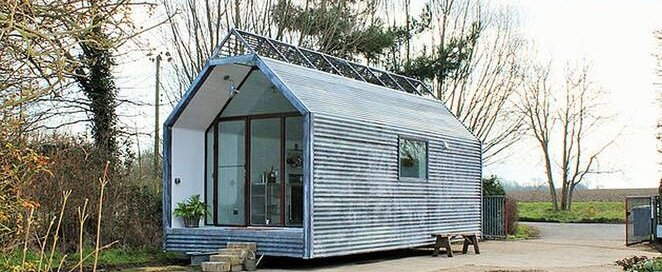 Tiny House -  Contemporary Shepherd Huts - Thomas Alabaster - Exterior - Humble Homes