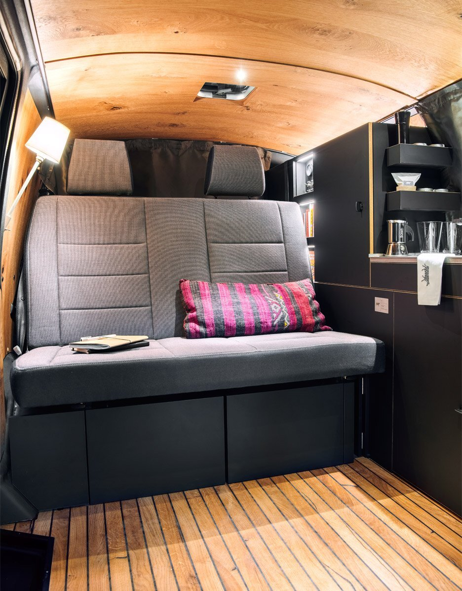 Van Camper -  Nils Holger Moormann - Volkswagen - Seating - Humble Homes