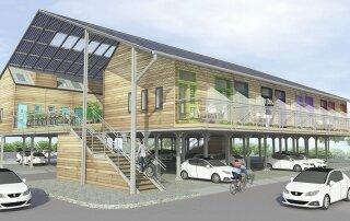 ZEDpod – A Prefab Design that Transforms Car Parks into Housing Developments