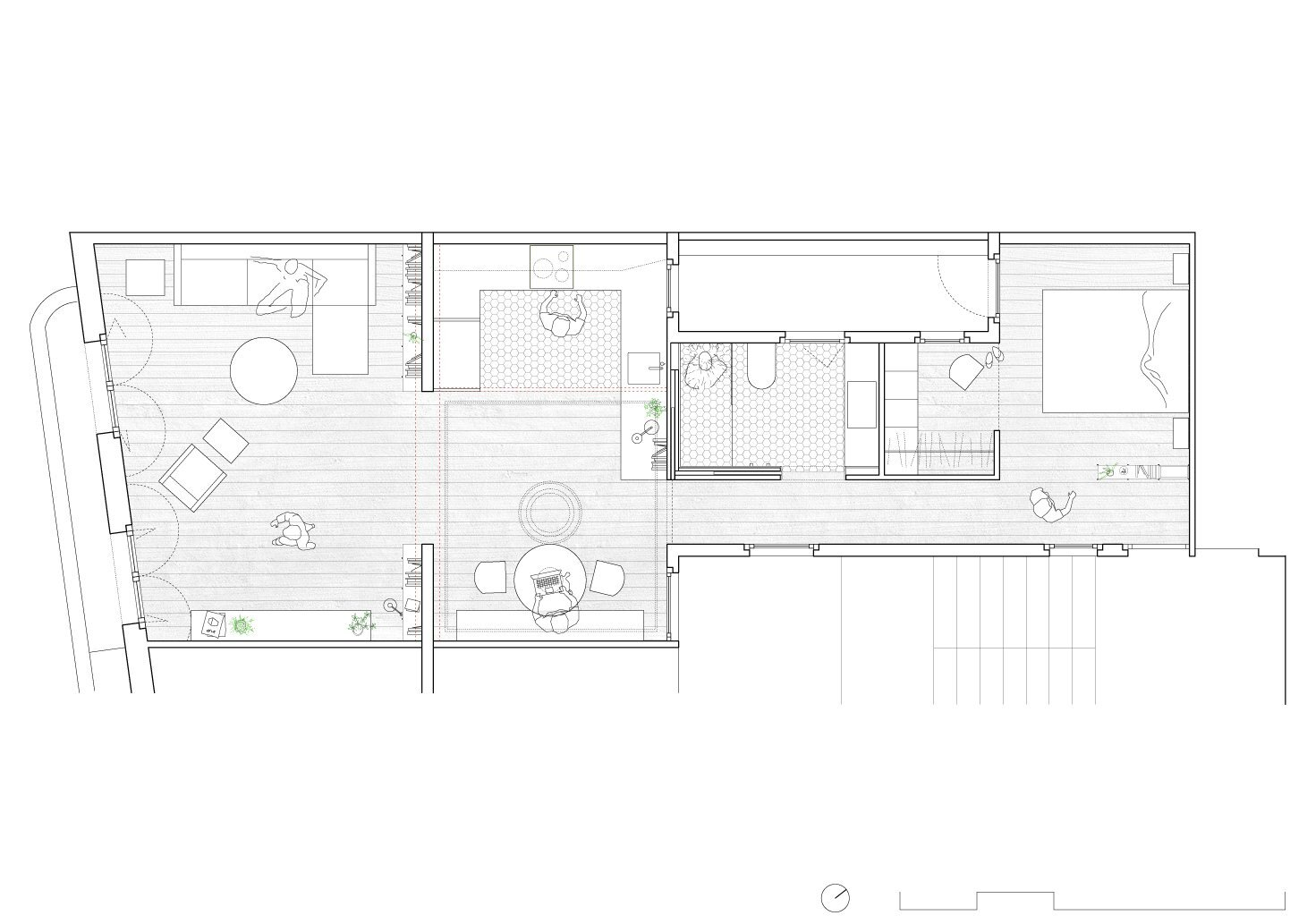 Alan's Apartment Renovation - EO arquitectura - Spain - Floor Plan - Humble Homes