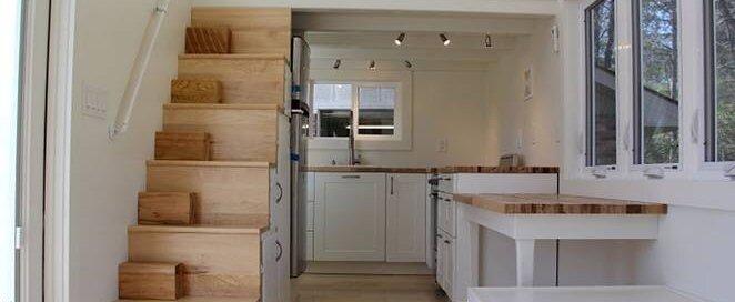 Chickadee - Brevard Tiny Homes - North Carolina - Interior - Humble Homes