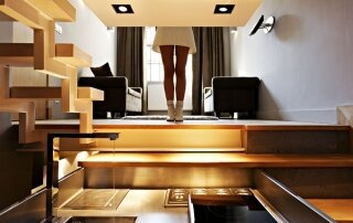 269 Square Foot Micro-Apartment Designed to Cater For a Chef