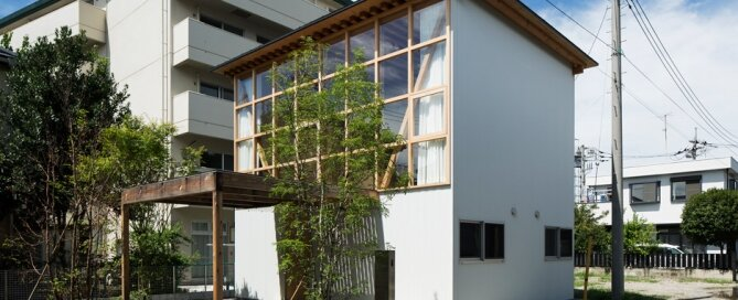Module Grid House - Tetsuo Yamaji Architects - Kanto Japan -Exterior - Humble Homes