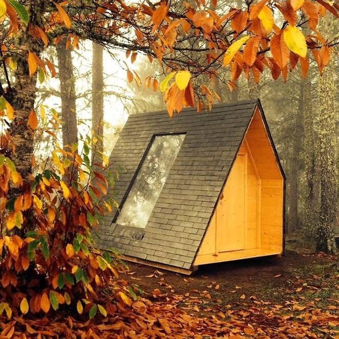 Rotating Micro-Cabin - Telmo Cadavez - Portugal - Exterior - Humble Homes