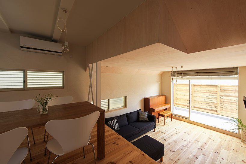 Small House in Takarazuka - Coo Planning - Japan - Living and Dining Area - Humble Homes