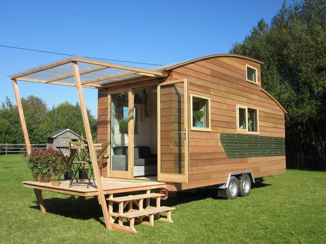 Tiny Stream Tiny House -  La Tiny House - France - Exterior - Humble Homes