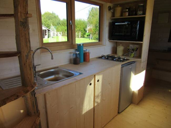 Tiny Stream Tiny House -  La Tiny House - France - Kitchen - Humble Homes